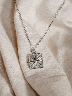 """Pendant Necklace """"North Star"""" Silber"""